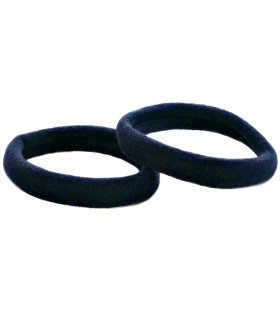 Резинка для волос темно-синего цвета набор 2 штуки