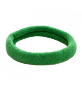 Резинка для волос зеленого цвета