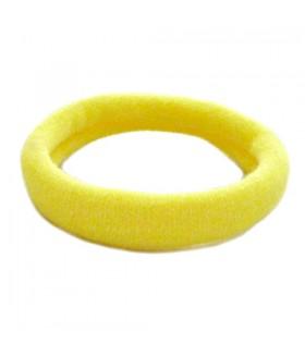 Резинка для волос желтого цвета