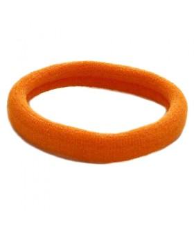 Резинка для волос оранжевого цвета