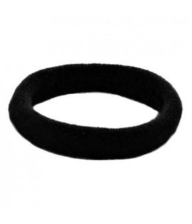 Резинка для волос черного цвета