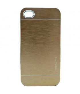 Чехол для iPhone (айфон) 4/4s алюминиевый золотого цвета