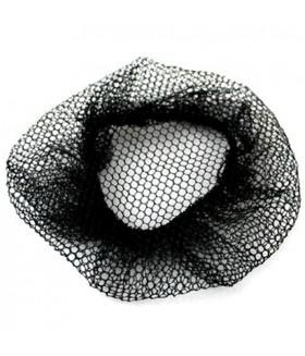 Сеточка для пучка волос черная
