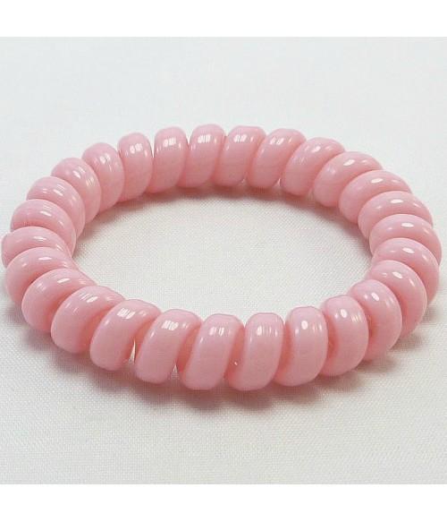 Резинка для волос силиконовая розового цвета