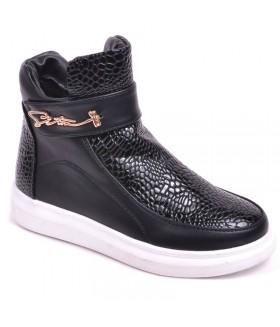 Детские ботинки для девочек МАРИЯ демисезонные черные