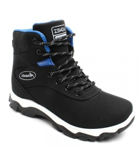Детские ботинки для мальчиков AOWEI зимние черные