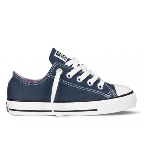 Кеды детские Converse All Star (Конверс) синие низкие